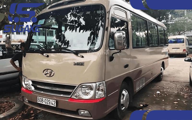 xe 29 cho hyundai county nhap khau