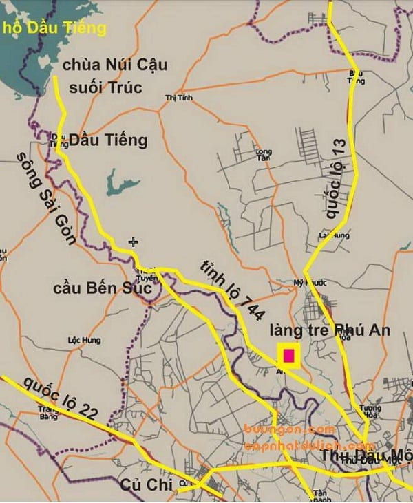 làng tre phú an