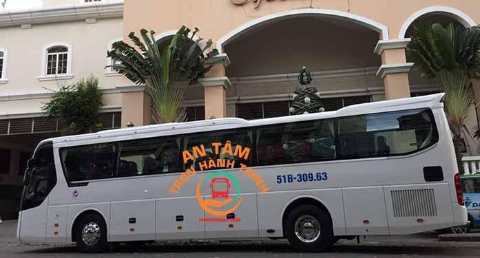 Thuê xe 45 chỗ giá rẻ TPHCM - Phan Thiết (2 ngày)